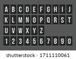 Mechanical Scoreboard Alphabet...