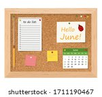 Hello  June.cork Board With To...
