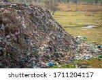 Contaminated City Dumps. Heaps...