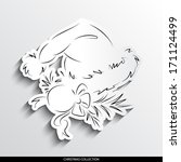 ap abstract silhouette on... | Shutterstock .eps vector #171124499