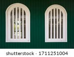 Wooden Rustic Window In Small...