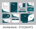 corporate identity template... | Shutterstock .eps vector #1711261471