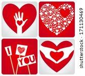 love card | Shutterstock .eps vector #171130469
