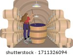Female Winemaker Mixes And...