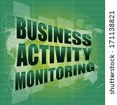 business concept  business... | Shutterstock . vector #171138821
