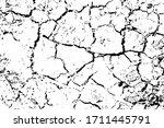 distressed overlay texture of... | Shutterstock .eps vector #1711445791
