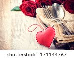 Rustic Table Setting For St...