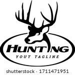 Buck Hunting Logo Unique Simple ...