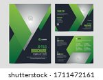 creative business bifold... | Shutterstock .eps vector #1711472161