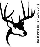 Whitetail Deer Logo. Great For...
