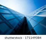 office buildings. modern glass... | Shutterstock . vector #171149384