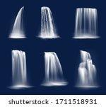 Waterfall Cascade  Realistic...