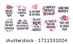 mother's day holiday... | Shutterstock .eps vector #1711531024