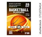 Basketball Sport Promotional...