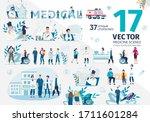 family doctors  medical...   Shutterstock .eps vector #1711601284