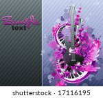 Abstract Party Design. Vector...