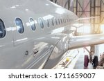 View Of The Fuselage Of A...