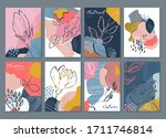 vector collection of eight...   Shutterstock .eps vector #1711746814