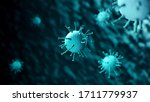 coronavirus disease covid 19 ... | Shutterstock . vector #1711779937