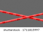 "christmas security ""do not... | Shutterstock .eps vector #1711815997"