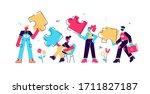 business concept. team metaphor....   Shutterstock .eps vector #1711827187