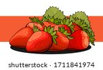 vector simple illustration of a ... | Shutterstock .eps vector #1711841974