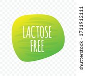 lactose free vector icon.... | Shutterstock .eps vector #1711912111