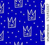 abstract seamless pattern... | Shutterstock .eps vector #1711922317