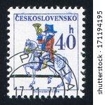 czechoslovakia   circa 1974 ... | Shutterstock . vector #171194195