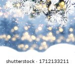 Winter Christmas Background...