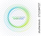 blue  green circle.... | Shutterstock .eps vector #1712184727