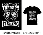 fishing t shirt design with...   Shutterstock .eps vector #1712237284