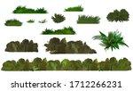 vector green tree and bush on...   Shutterstock .eps vector #1712266231