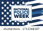 national police week in may.... | Shutterstock .eps vector #1712268187