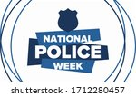 national police week in may.... | Shutterstock .eps vector #1712280457