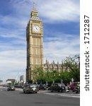 London Street With Big Ben