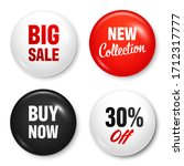 realistic badges with text.... | Shutterstock .eps vector #1712317777