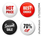 realistic badges with text.... | Shutterstock .eps vector #1712322994