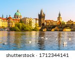 View On Charles Bridge And...