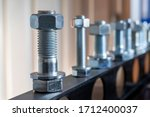 View Of The Bolt  Nut And...