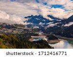 Panoramic View Of Lake Of...