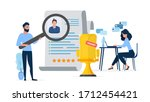 free place. the guy under the... | Shutterstock .eps vector #1712454421
