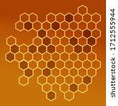 honeycomb illustration for your ...   Shutterstock .eps vector #1712555944