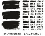 flat paint brush thin lines  ... | Shutterstock .eps vector #1712592577