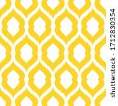 vector stylized yellow seamless ... | Shutterstock .eps vector #1712830354