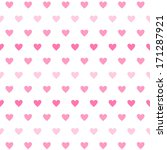 vector gradient heart seamless... | Shutterstock .eps vector #171287921
