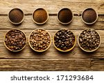 preparing fresh roast coffee... | Shutterstock . vector #171293684