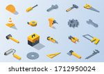 mechanic tool isometric vector...   Shutterstock .eps vector #1712950024