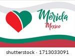 merida  ciudad de mexico  mx ...   Shutterstock .eps vector #1713033091
