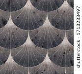 seaumless neutral worn faded... | Shutterstock . vector #1713233497